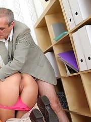 This tricky old teacher wouldn't change his job for the world now that he has access to the hottest babes on the planet, at just the right age. W
