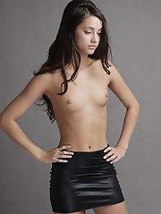 naked g string bent over